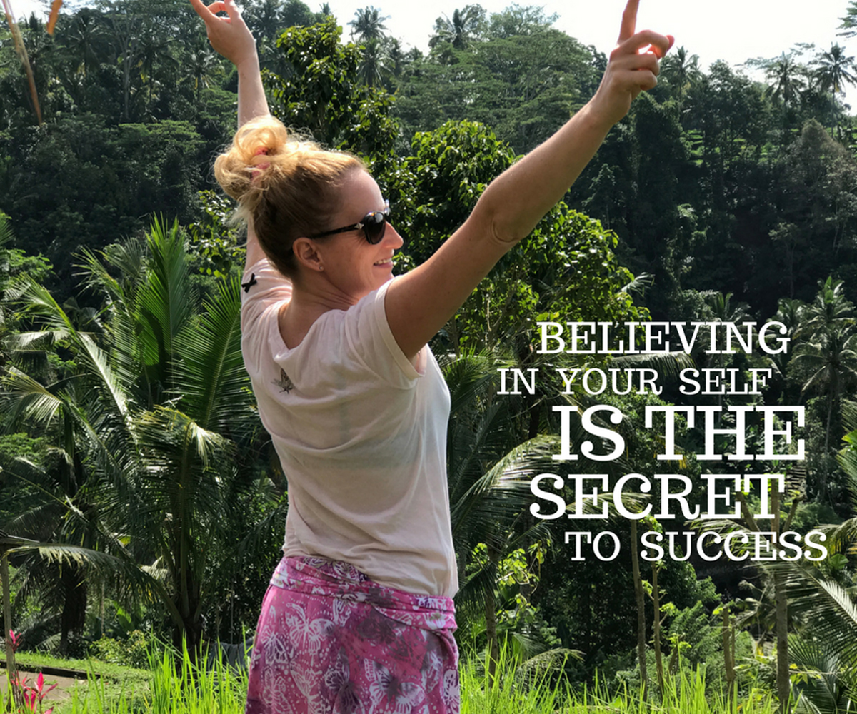 Believing in your self